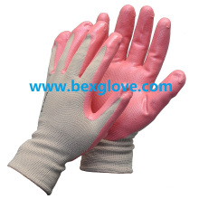 Nitrile Foam Finish Work Glove