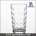 Glass Cup & Tumbler with DOT Design (GB027612YD)