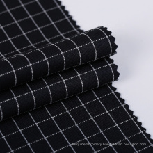 Hot textiles clothes material ponti roma plain knitted plaid roma fabric