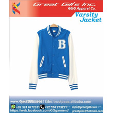 Uni-Jacke benutzerdefinierte / schlichte Uni-Jacke Großhandel / Uni-Jacke