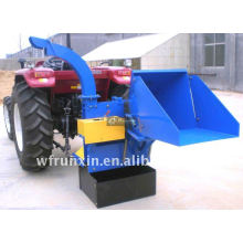 3 point hitch tractor rear mounted pto wood chipper with CE certificate