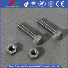 Top quality Molybdenum flat phillips bolt vaccum furnace