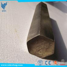Vente en usine de barres hexagonales en acier inoxydable 201