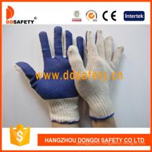 Guantes de punto Dkp145 de Ddsafety Natural Cotton / Polyester String