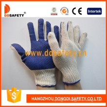 Ddsafety Natural Cotton/Polyester String Knit Gloves Dkp145