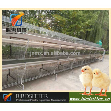 Automatic broiler chicken cage system