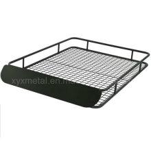 Panier en grille de chargement en toit en acier extra large avec carénage à vent