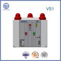12 кв Vs1 Крытый высокого напряжения вакуумный выключатель с встроенный полюс