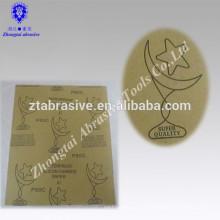 9 '' * 11 '' Mond-Stern Marke Electro Coated Siliziumkarbid Schleifmittel Nass-und Trockenpapier wasserdicht Schleifpapier zum Polieren