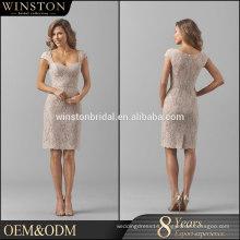Top Quality teal evening dress