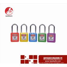 12 Pin de alta seguridad de 38 mm de acero de grillete de seguridad de bloqueo de advertencia candado cerradura de metal cierre