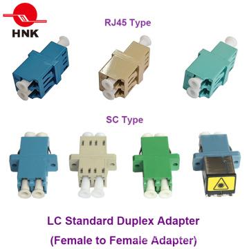 Scam / LC / FC / St / Mu / MTRJ / MPO Simplex / Duplex / Quad одномодовый / многомодовый Om3 / Om4 / APC стандартный или гибридный оптоволоконный адаптер