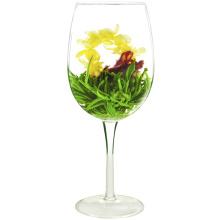 Xian nv san hua melodia bola verde flor de chá de florescência