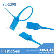 Sello de plástico de seguridad con bloqueo automático (YL-S290)