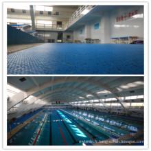 Le fabricant professionnel de plancher de piscine anti-dérapant pour intérieur / extérieur utilisé