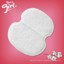 Disposable Ultra Thin Soft Cotton Armpit Sweat Pads from shenzhen