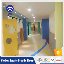 YC Economic cheap embossed plastic vinyl sheet PVC flooring wholesale