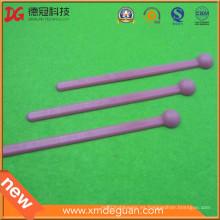 Fábrica del OEM Venta caliente al por mayor del plástico del laboratorio anti-estático cuchara rosada