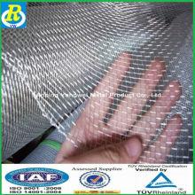 Una malla de alambre galvanizado