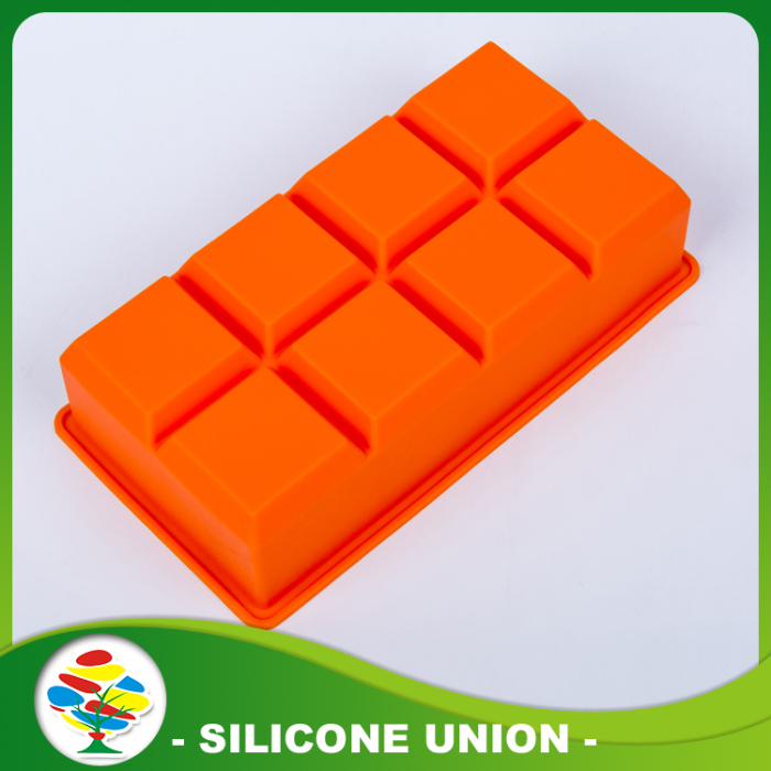 Hi-quality Orange Silicone Ice Mold