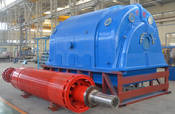 Static Scr Excitation Turbo Genetator
