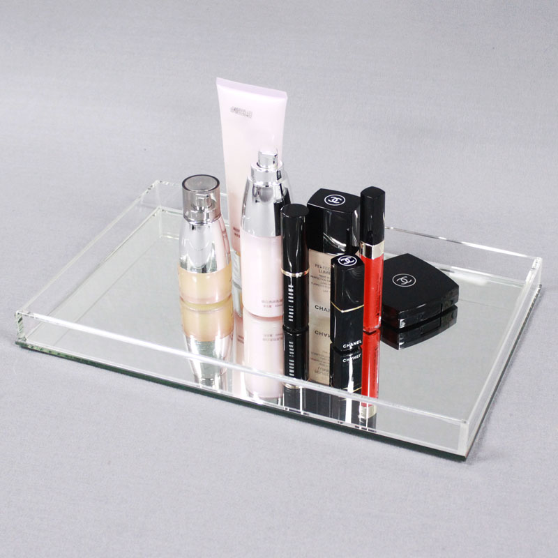 Clear Makeup Storage Trays
