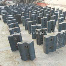 High Chrome Manganese Steel Mining Mill Roller Crusher Parts