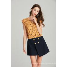 Ladies Solid TR Spandex Skirt