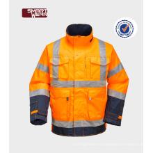 Ropa de trabajo de alta visibilidad ropa acolchada de seguridad chaleco reflectante de seguridad barato