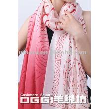 Bufanda / mantón de lana largos estupendos de las señoras