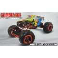 1/8 Scale 3 Canal RC Toy Car Metal estructura escalada coche