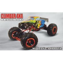 Voiture d'escalade de structure en métal de voiture de jouet de RC de 1/8 échelle 3 canaux
