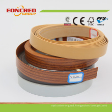 Different Kinds Edge Banding Made Via PVC