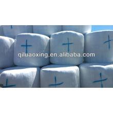 weiß / grün / schwarz landwirtschaft gras silage film für verpackung ballenpresse