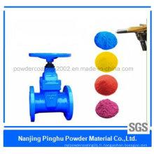 Revêtement en poudre pulvérisation en polyester industriel