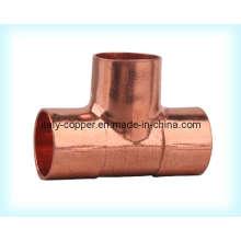 ISO9001 Certified Copper Equal Tee (AV8010)