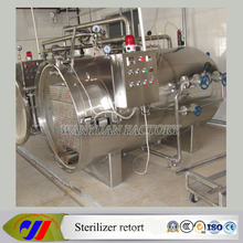 Plastic Food Packing Sterilizer Autoclave Retort