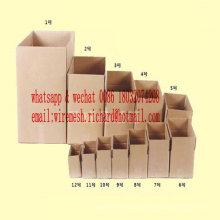 Gesunder bunter Frucht-Wellpappen-Kasten von der Karton-Fabrik in China