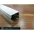 Aluminium Head Track for Vertical Blinds with Anodised White or Silver