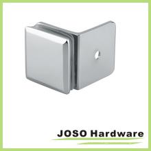 Support en verre en laiton de 90 degrés en verre sur mur (BC301-90)