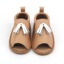 Children Sandal Shoes Kids Summer Leather Sandals