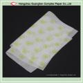 Feuilles de papier parchemin imprimées non blanchies pour l'emballage de cuisson de cuisson de nourriture