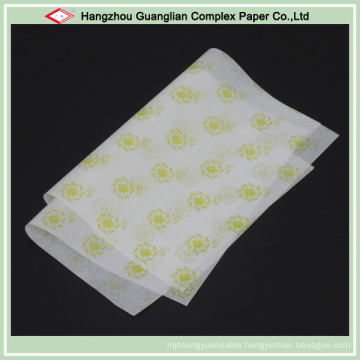 Unbleached Printed Parchment Paper Sheets for Food Baking Cooking Wrapping