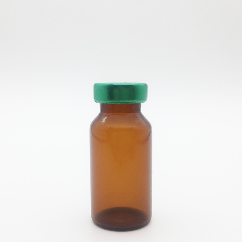 10ml Amber Sterile Serum Vials Green