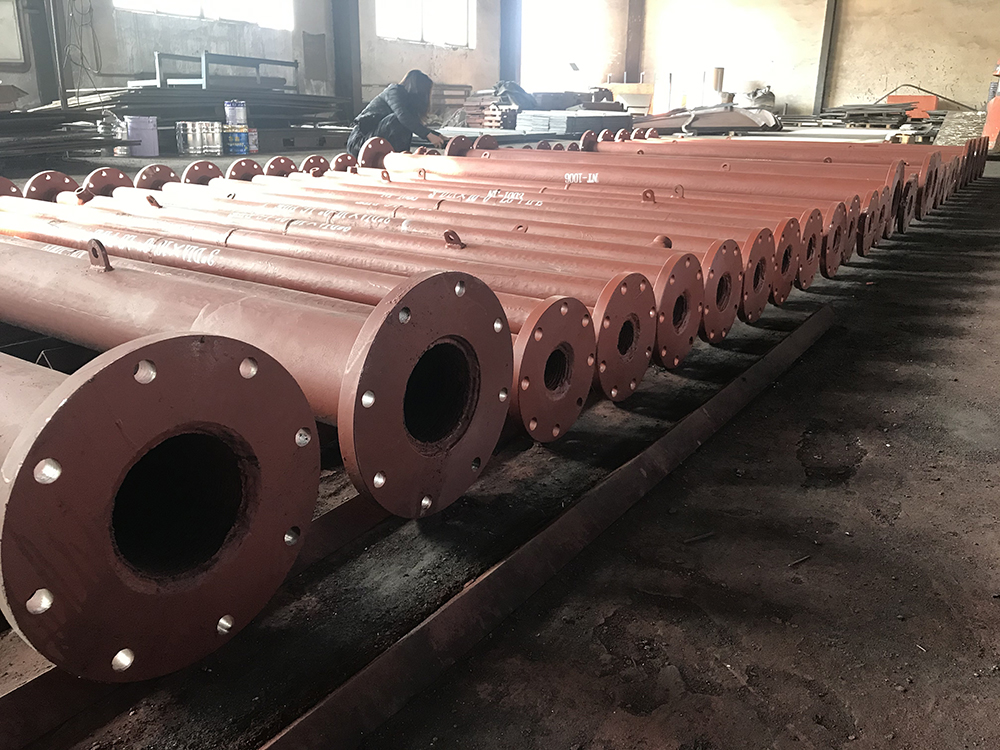 Overlay Pipe with 5 Mating Flange