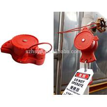 Approve CE length 1.8m and cable diameter 5mm ABS cheap industrial lockout tags