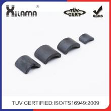 Imán de rotor de motor de ferrita de inyección permanente Imanes de cerámica de ferrita