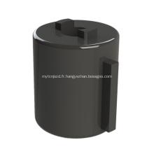 Amortisseur rotatif en plastique de baril d'amortisseur pour la poignée de maintien