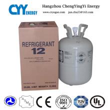 Gaz réfrigérant mélangé de haute pureté de R12 (R134A, R404A, R410A)