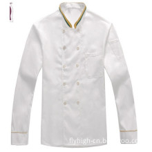 Customized Logo Cotton Cooking Clothes Chef Uniform